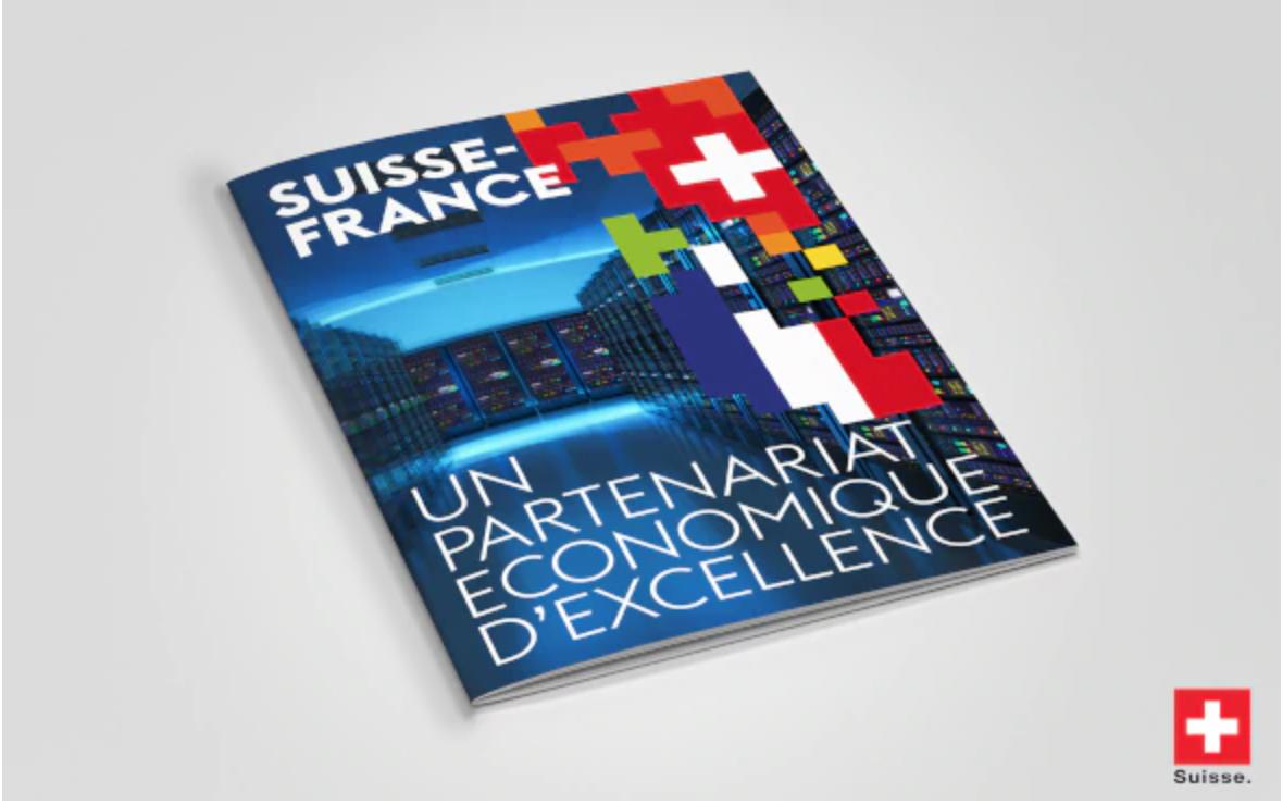 Réédition de la brochure: «Suisse-France: un partenariat économique d'excellence»